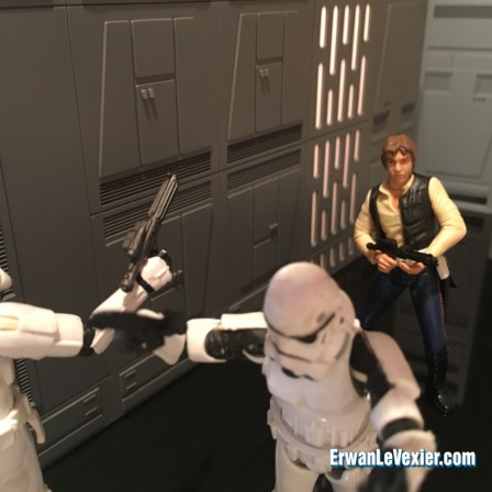 Han Solo attaque les stormtroopers