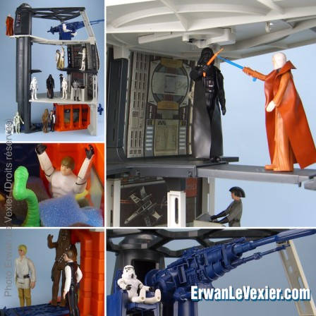 20 ans de photos de jouets Star Wars